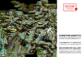 christian zanotto,centauromachy,red stamp art gallery,amsterdam,solo show