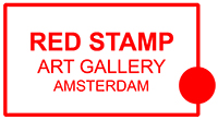 red stamp art gallery, amsterdam