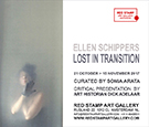 ellen schippers,lost in transition,solo show,red stamp art gallery,amsterdam