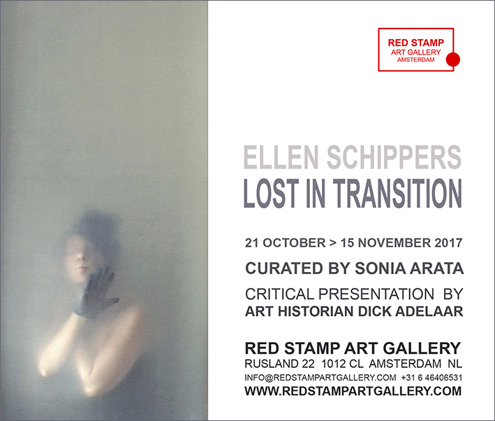 ellen schippers,lost in transition,red stamp art gallery,amsterdam,sonia arata,dick adelaar,video art,installation,photography,performance,chromaluxe
