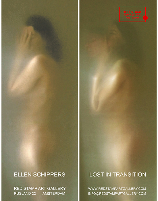 ellen schippers,red stamp art gallery,lost in transition,solo show