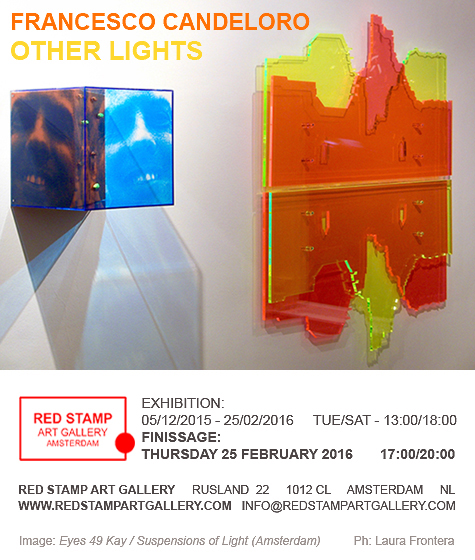 francesco candeloro,other lights,solo show,finissage,red stamp art gallery,amsterdam