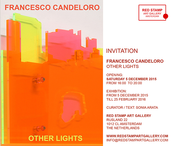 francesco candeloro,other lights,red stamp art gallery,amsterdam