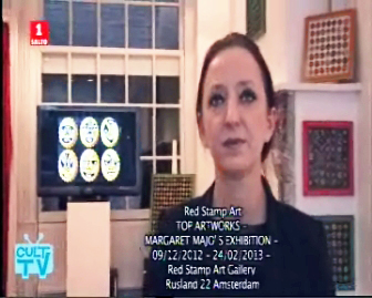 red stamp art gallery, margaret majo, interview, amsterdam, top artworks