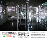 christian zanotto,empyreum,breed art sudios,stichting breed art,amsterdam,video installation,holographic projections